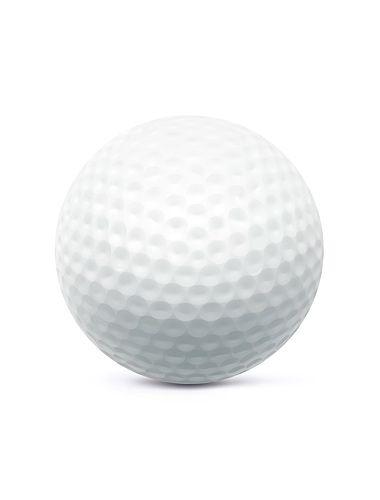 380x500 Golf Ball. Vector Illustration Illustrations Pseudo 3d