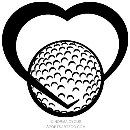 450x450 Golf Heart