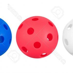 300x300 Photored White And Blue Whiffle Balls Isolated On White Ardiafm