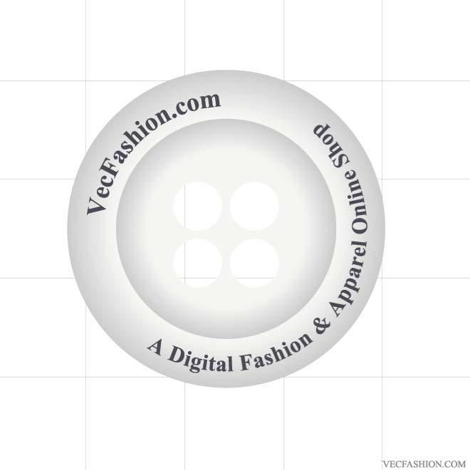 660x660 Shirt Plastic Button Vector