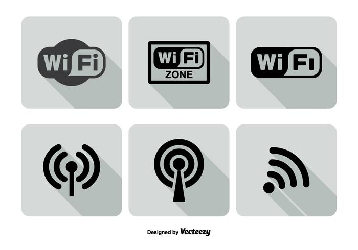 700x490 Free Wifi Logo Vector Wifi Icon Vector Set Download Free Vector