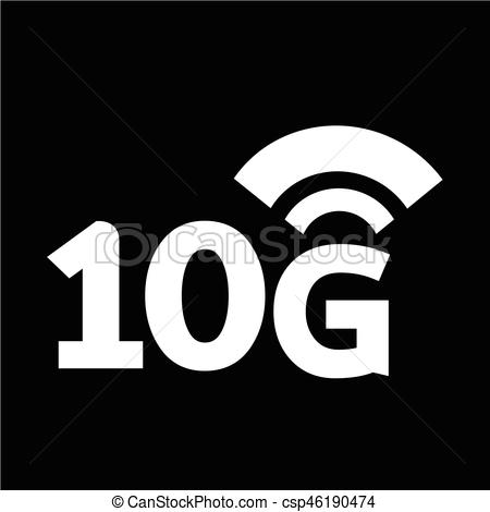 450x470 10g Wireless Wifi Icon Vectors Illustration