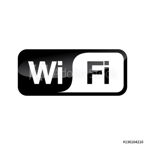 500x500 Wifi Icon Vector Design Isolated On White Background