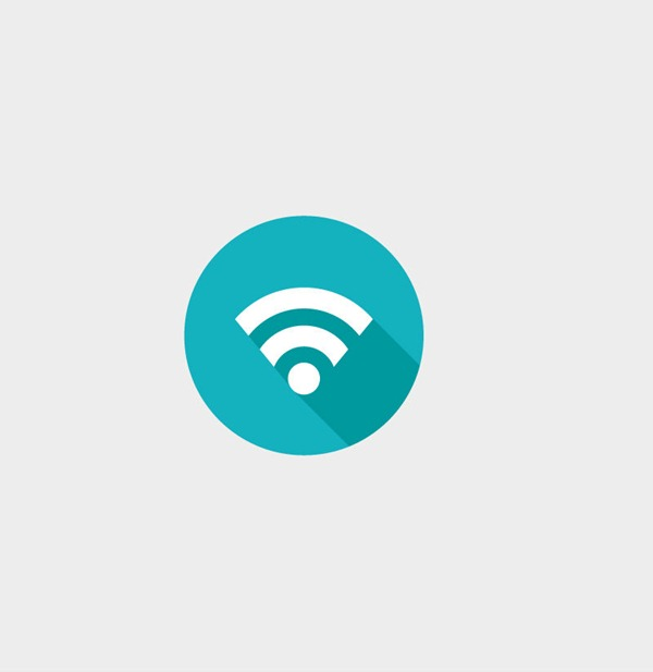 600x617 Exquisite Round Wifi Icon Vector Graphics My Free Photoshop World