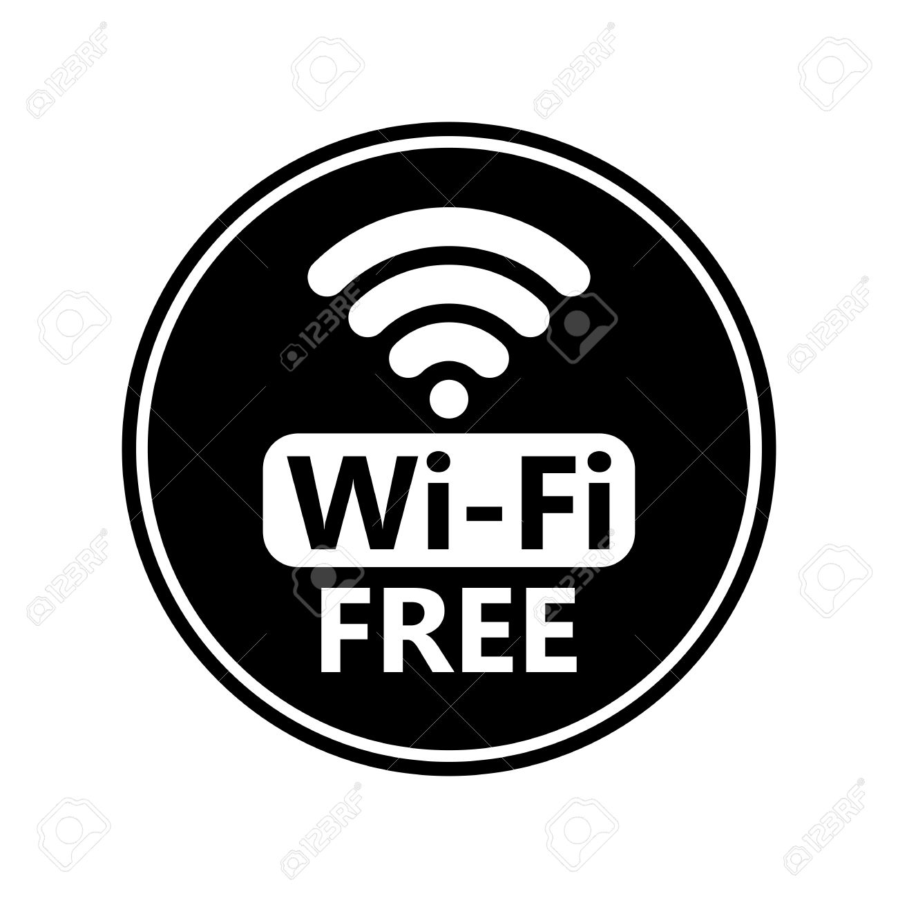 1300x1300 Free Wifi Icon Vector 420672 Download Wifi Icon Vector