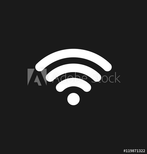 475x500 Wifi Icon Connection. Wifi Signal Coverage Symbol Vector Illus
