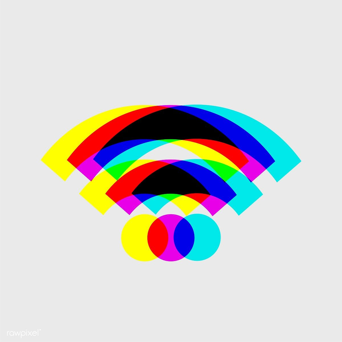 1200x1200 Wifi Signal Vector Drawings Wifi, Wallpaper And