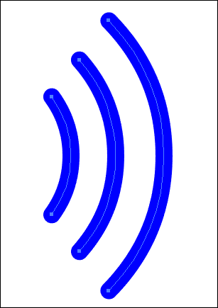 307x435 How To Create Rounded Corners On Wifi Signal Shape In Adobe