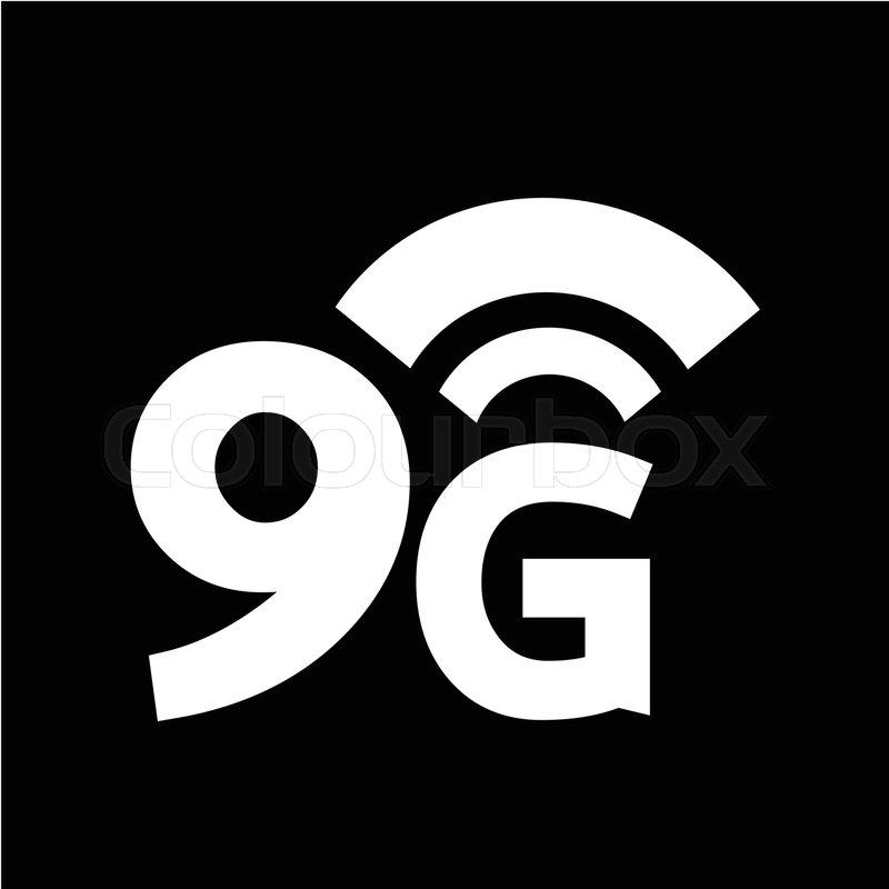 800x800 9g Wireless Wifi Icon Stock Vector Colourbox