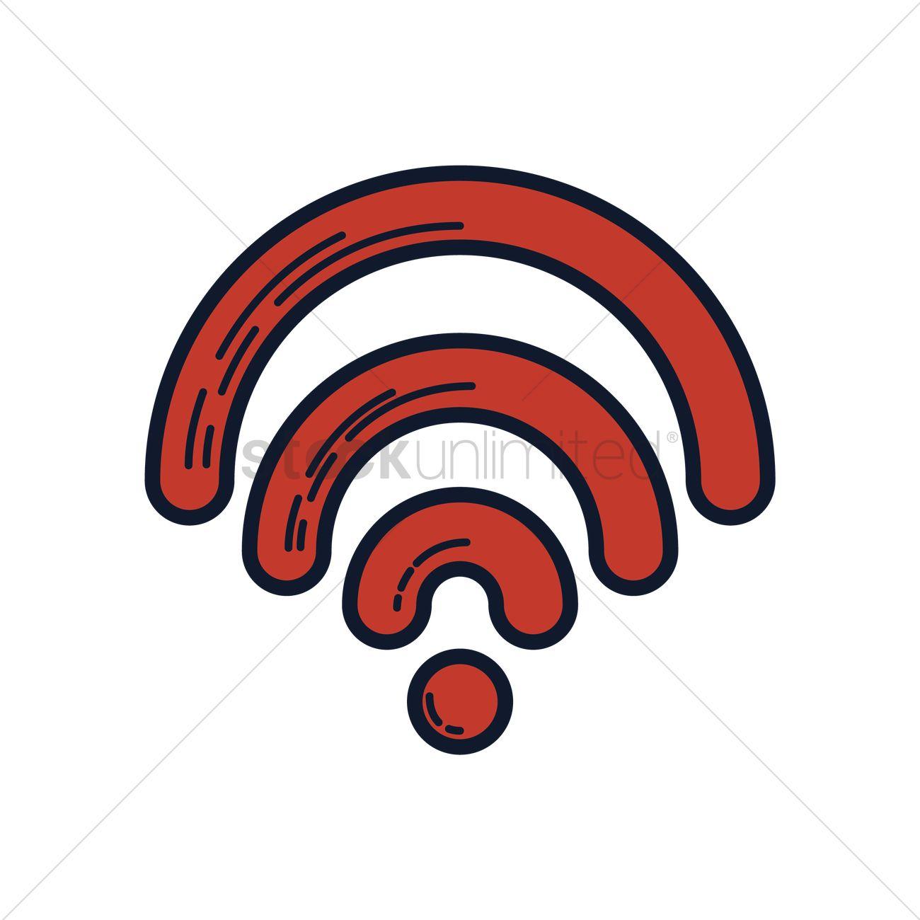 1300x1300 Wifi Icon Vector Image
