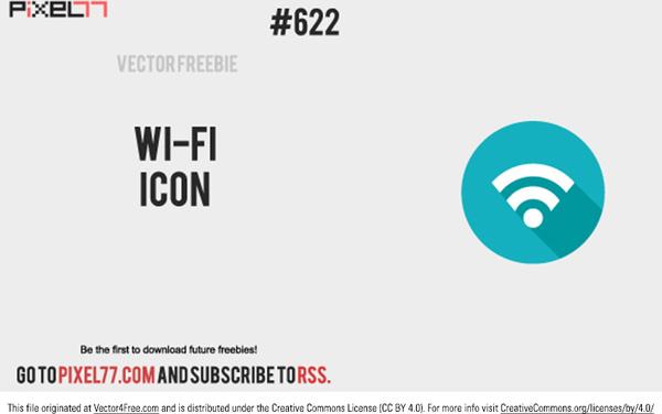 600x376 Wifi Icon Vector Free Vector In Adobe Illustrator Ai ( .ai