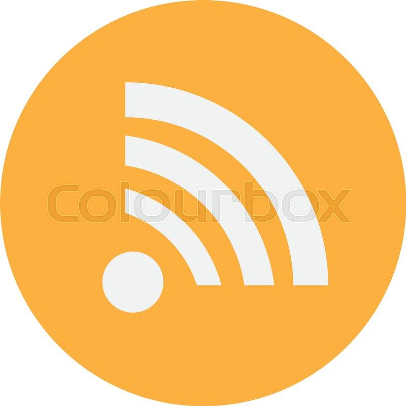 800x800 Wireless Network Symbol Of Wifi Icon, Vector Illustration. Stock