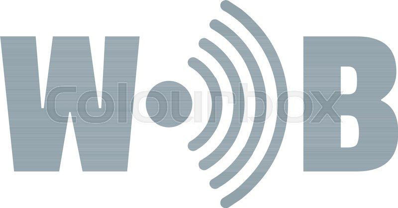 800x418 Wifi Logo. Simple Illustration Of Wifi Vector Logo For Web Stock