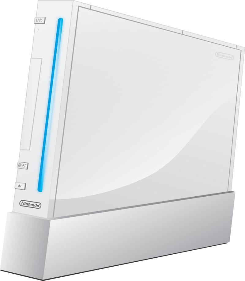 800x916 Nintendo Wii Free Vector