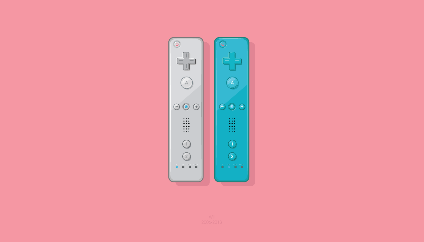 1400x800 Nintendo Wii Controllers By Oldgraphicsdiehard
