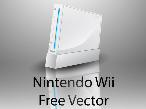 600x450 Nintendo Wii Free Vector Free Vector In Adobe Illustrator Ai ( .ai