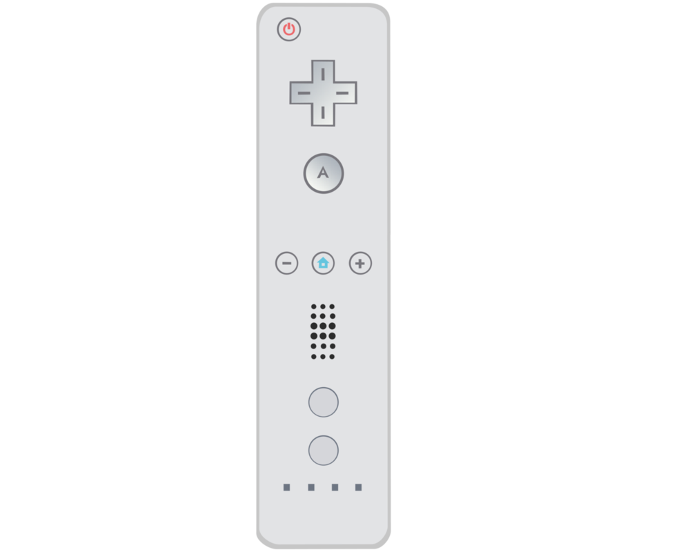 1000x800 Wii Remote Vector By Ikillyou121
