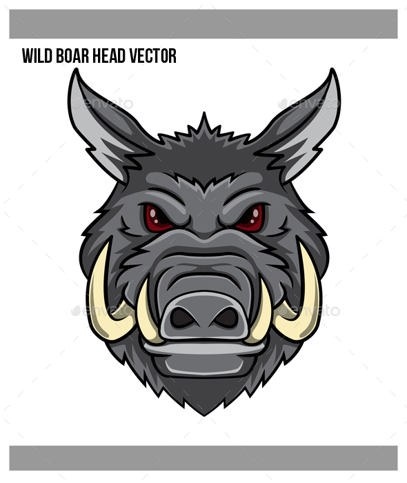 Wild Boar Vector at GetDrawings com | Free for personal use