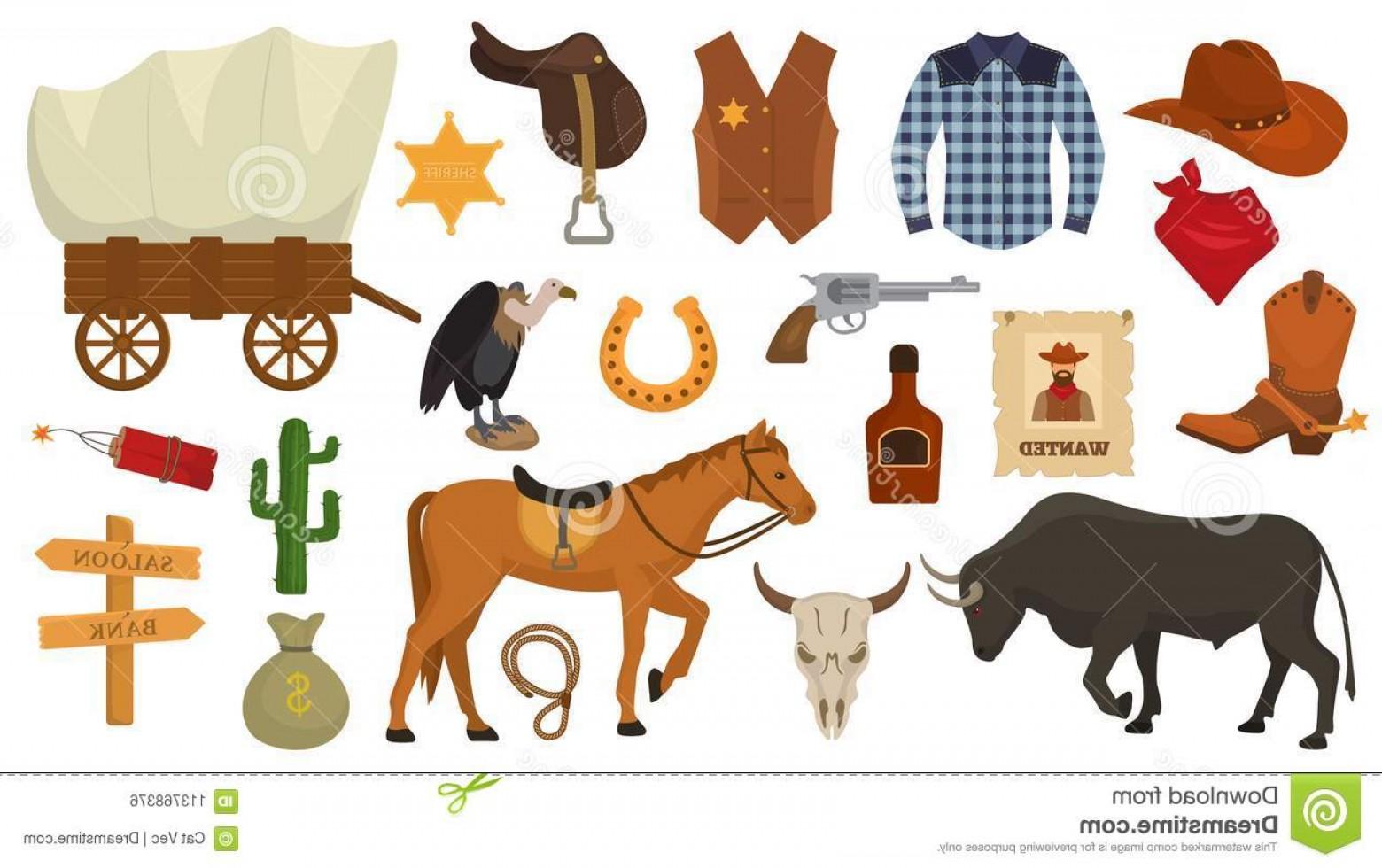 1560x980 Wild West Vector Western Cowboy Sheriff Signs Hat Horseshoe