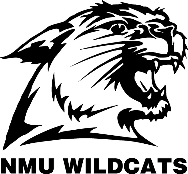 600x557 Nmu Wildcats Free Vector In Encapsulated Postscript Eps ( .eps