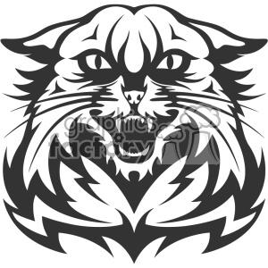 300x300 Royalty Free Wildcat Head Vector Art 403145 Vector Clip Art Image