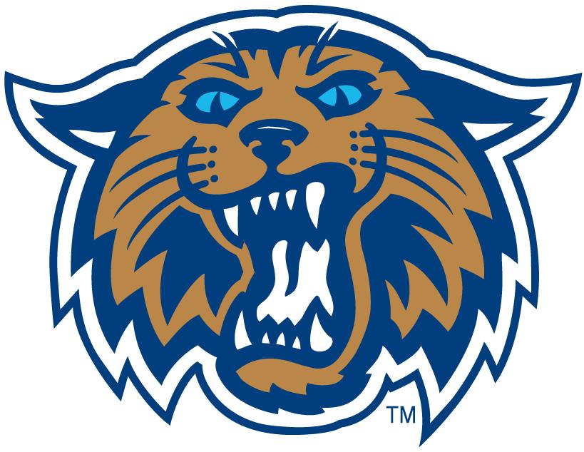819x634 Villanova Wildcats Alternate Logo 2004 El Gato Bob Wildcats Logo