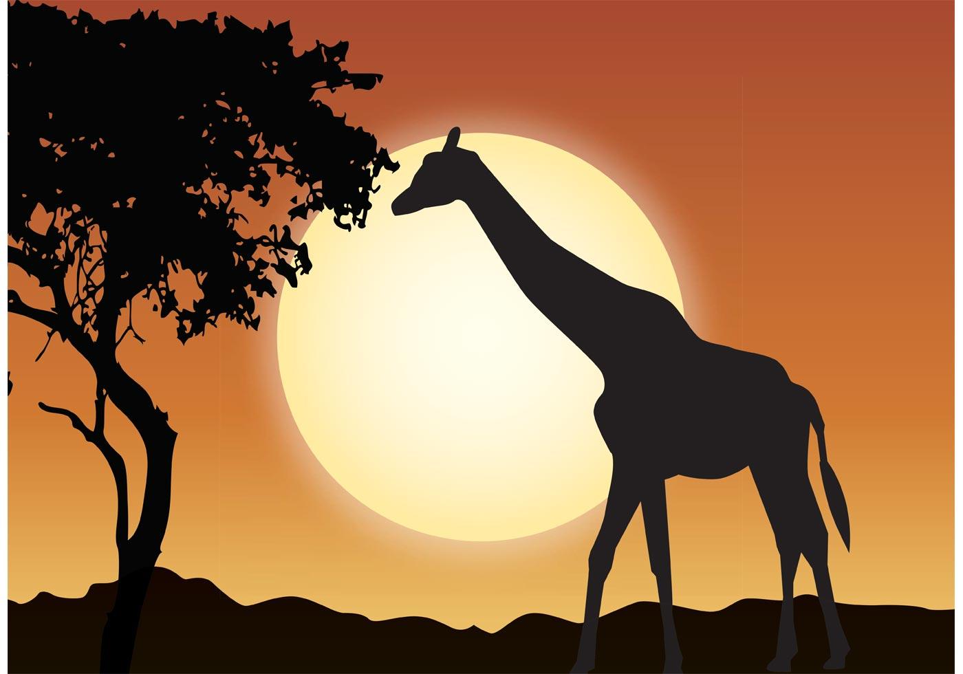 1400x980 African Wildlife Free Vector Art