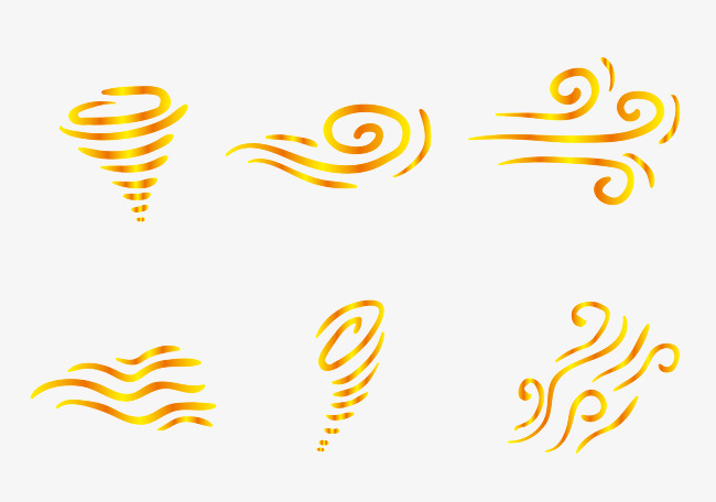 650x456 Six Wind Vector Elements, Wind Direction, Windy, Whirlwind Png And
