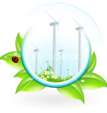 357x376 Free Wind Power Plant Icon Vector Free Vector Download 241619