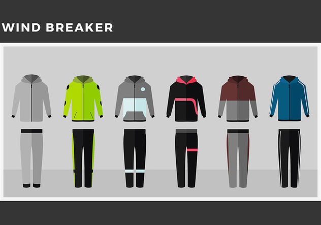 632x443 Windbreaker Model Free Vector Free Vector Download 443707 Cannypic
