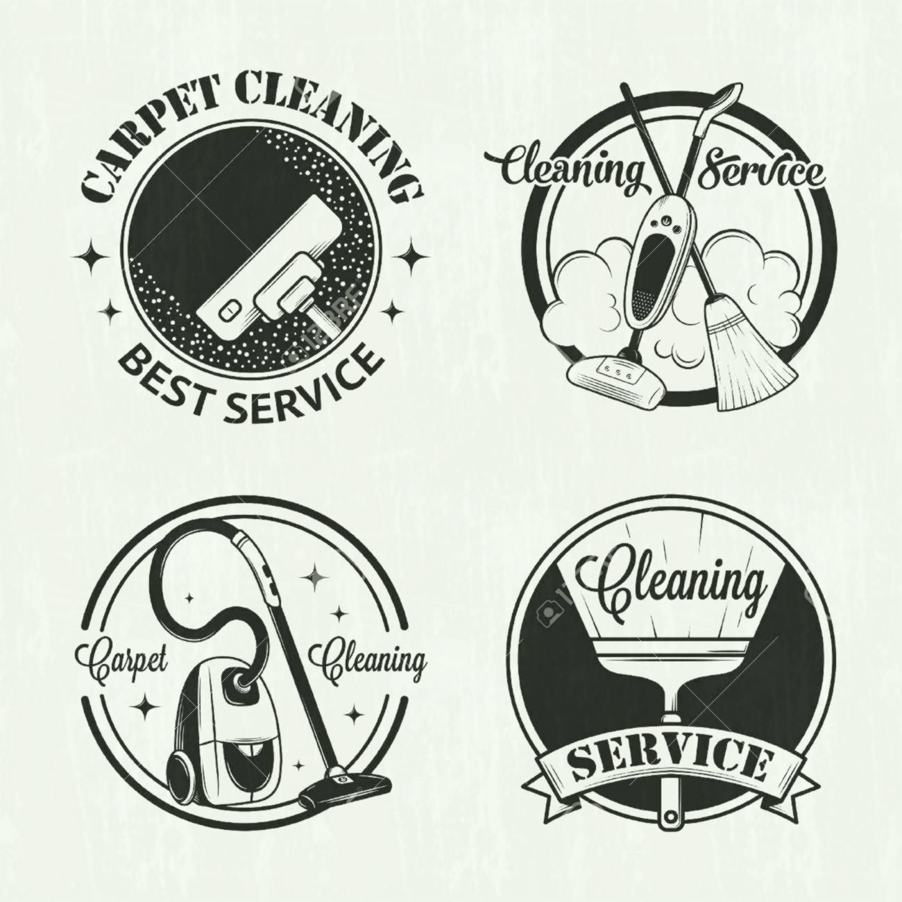 1300x1300 Set Of Vintage Icons Labels And Badges Cleaning Services Window