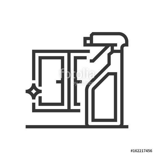 500x500 Window Cleaning Icon Stock Image And Royalty Free Vector Files On