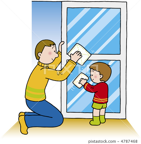 450x459 Window Cleaning, Vector, Vectors