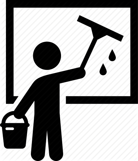 441x512 Collection Of Free Cleaning Vector Window. Download On Ubisafe
