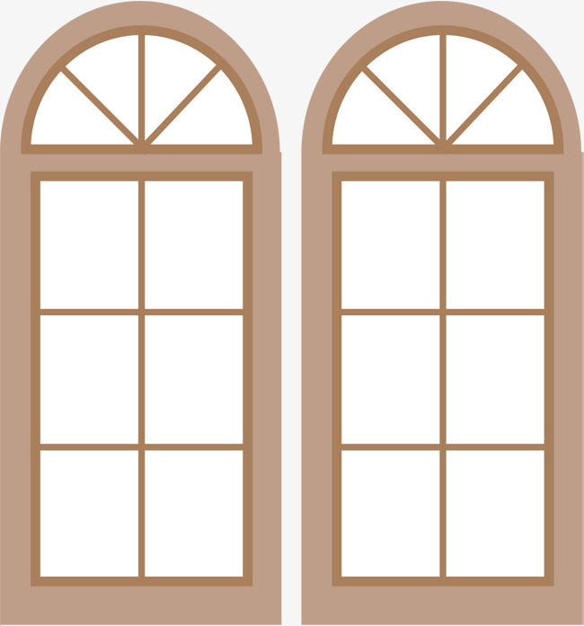 650x697 Glass Window Vector, Window Vector, Window, Wooden Frame Png And