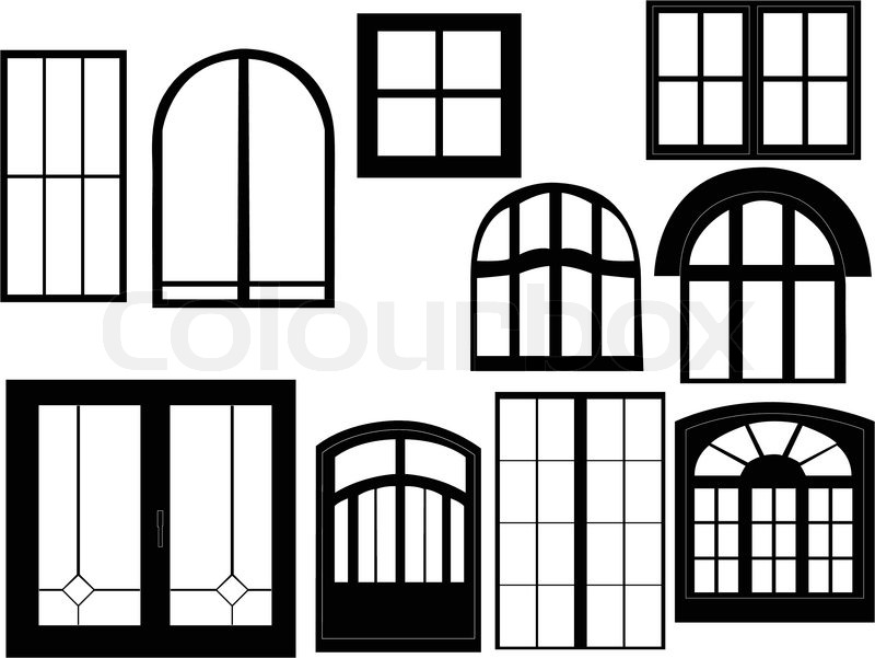 800x601 Window Collection Silhouette
