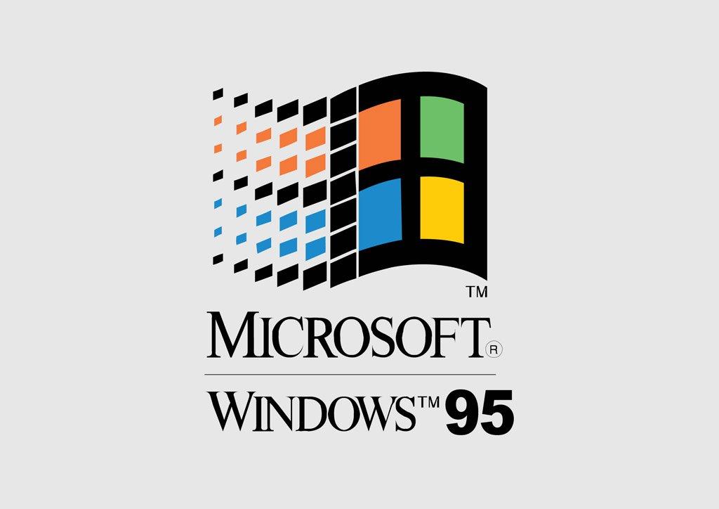 1024x724 Microsoft Windows 95 Vector Art Amp Graphics