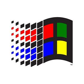 280x280 Microsoft Windows Pre Xp Logo Vector Free Download
