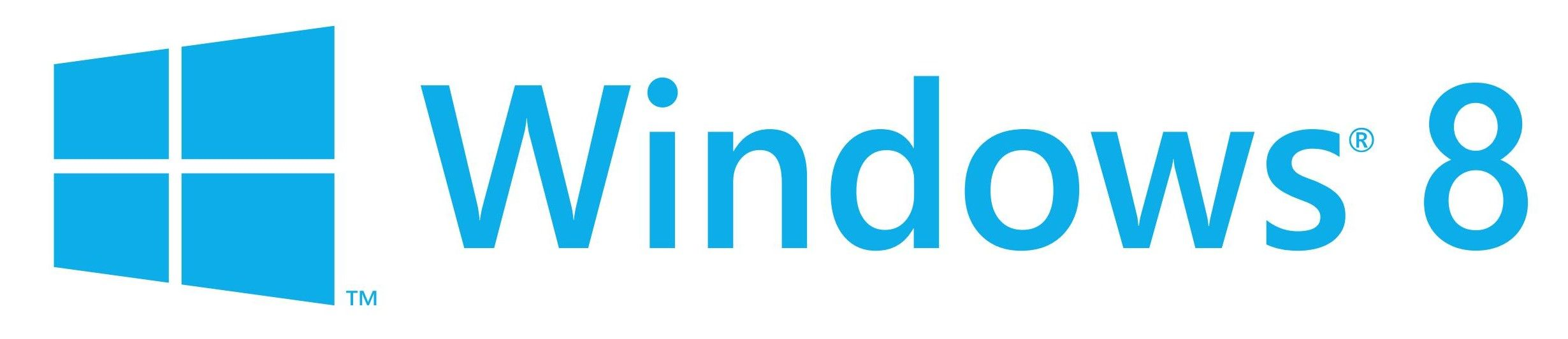 2460x533 Windows 8 Logo Vector [Eps File] Software And Application Logos
