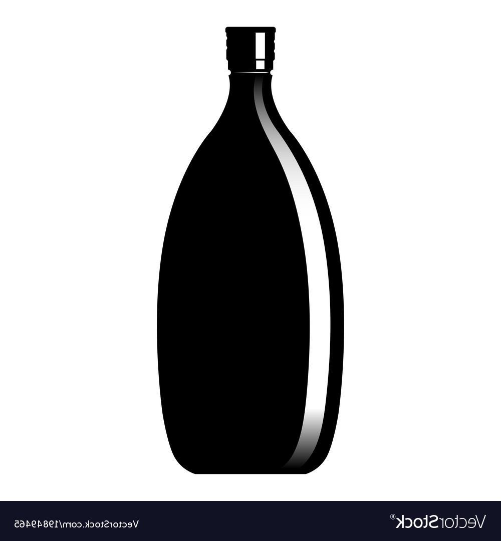 Wine Bottle Vector Free