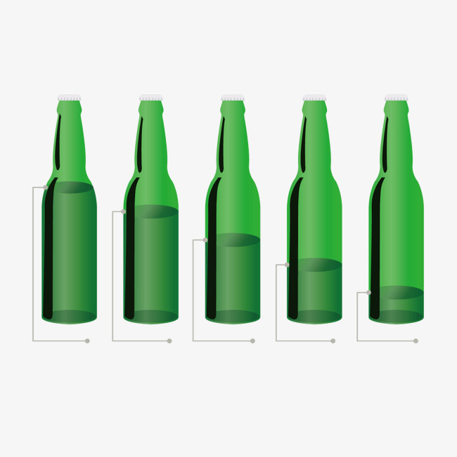 650x651 Green Wine Bottle, Green Vector, Wine Vector, Bottle Vector Png