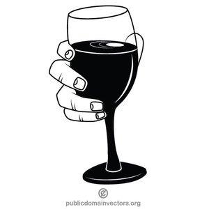 Wine Glass Vector Art