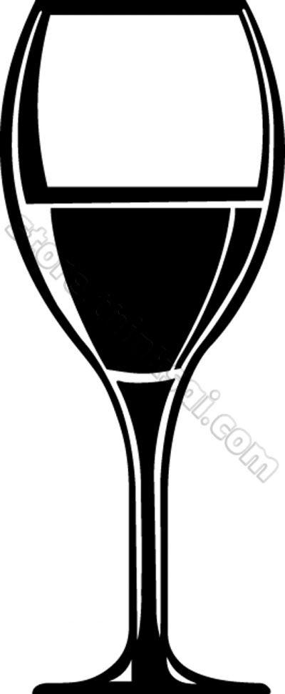 400x971 Free Wine Glass Clip Art New Wine Glass Vector Art Free