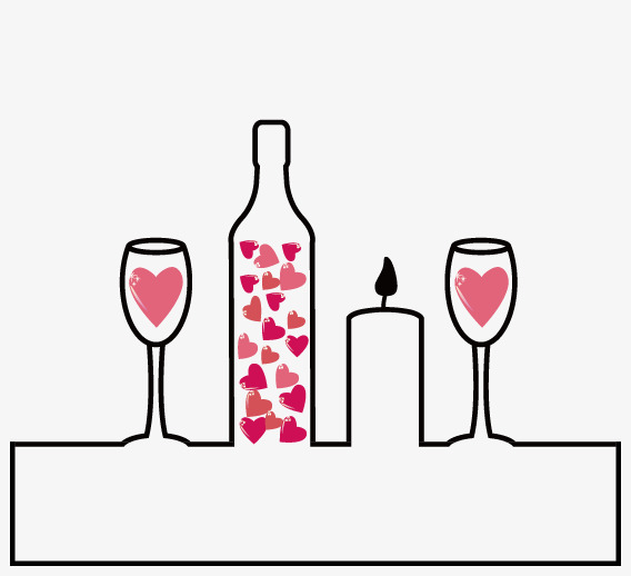568x518 Wine Glass Vector, Wine Vector, Love, Love Png And Vector For Free
