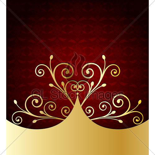 500x500 Red Label Template. Vector Gl Stock Images