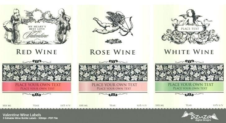 728x396 Wine Label Template Psd Wine Bottle Labels Template Free Wine