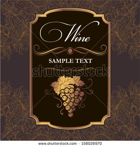 450x470 Wine Labels Download Free Vector Art Stock Graphics Amp Wine Label