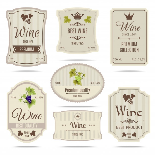 626x626 Wine Labels Vectors, Photos And Psd Files Free Download