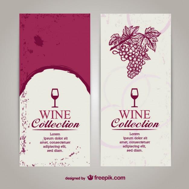 626x626 Wine Menu List Template Vector Free Download