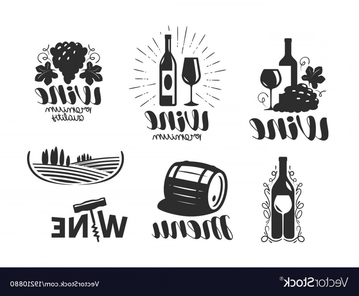 1200x992 Wine Winery Logo Drink Alcoholic Beverage Vector Shopatcloth